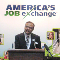 Rathin Sinha, President of America's Job Exchange